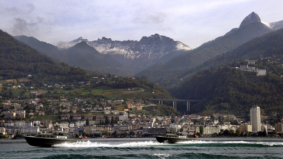 View of Montreux, Switzerland - file pic