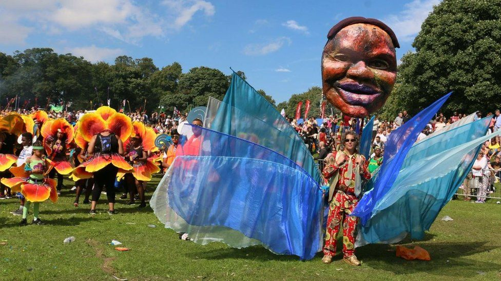 Leeds West Indian Carnival in 2017