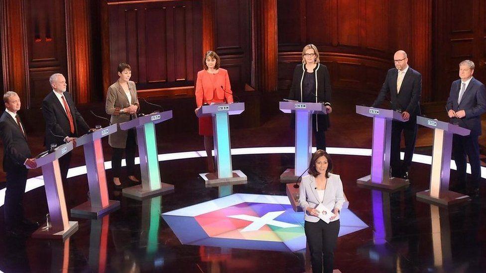Panel in 2017 general election TV debate