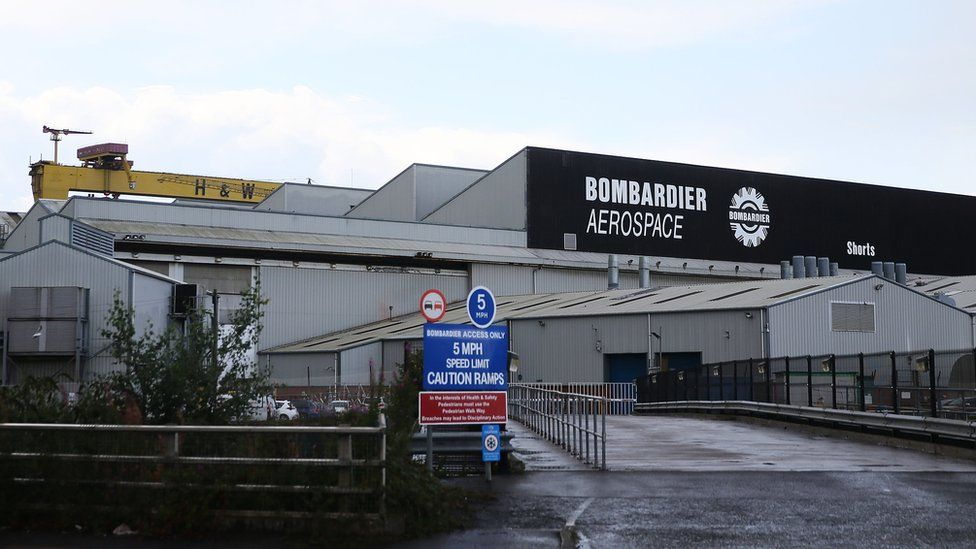 Bombardier's Belfast factory
