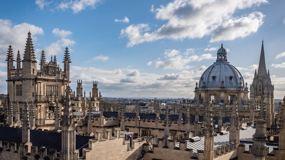 Radcliffe Camera and Old Library roofs