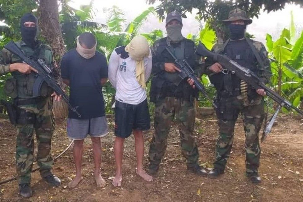 The Venezuelan military said it captured mercenaries after the failed coup
