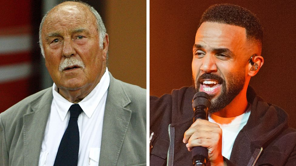 Jimmy Greaves. Craig David