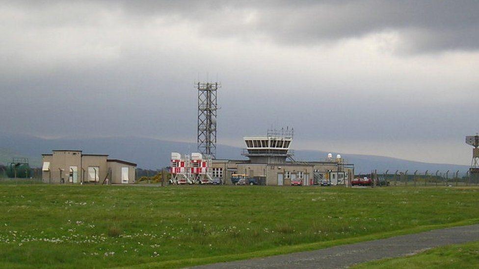 Llanbedr control tower