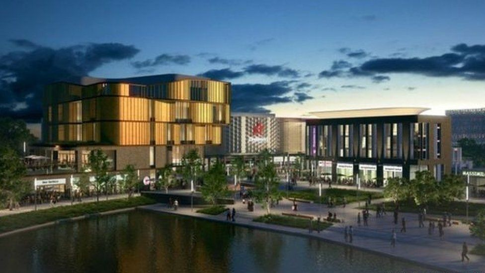 Southwater development