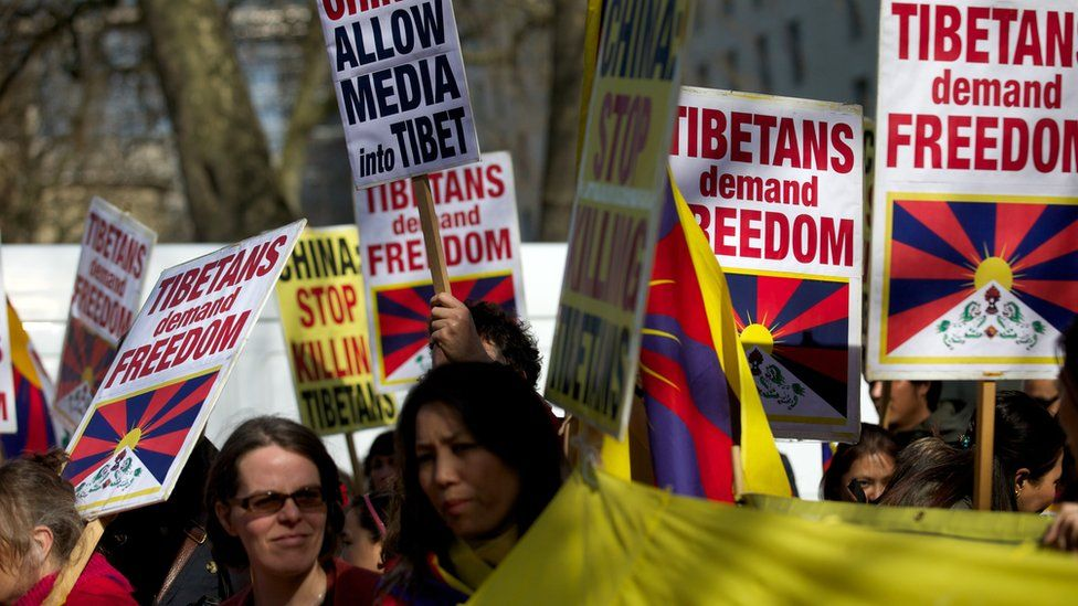 Tibet has supporters of independence around the world