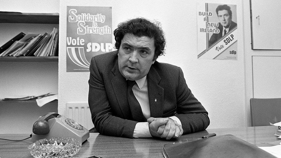John Hume pictured in 1985
