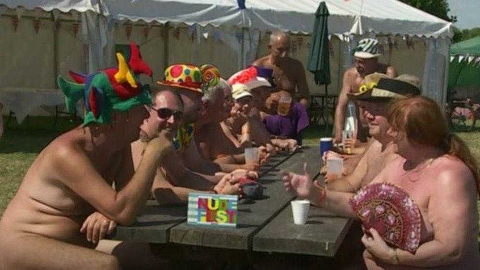 People at NudeFest2018