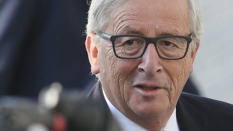 European Commission President Jean-Claude Juncker pictured in September 2016