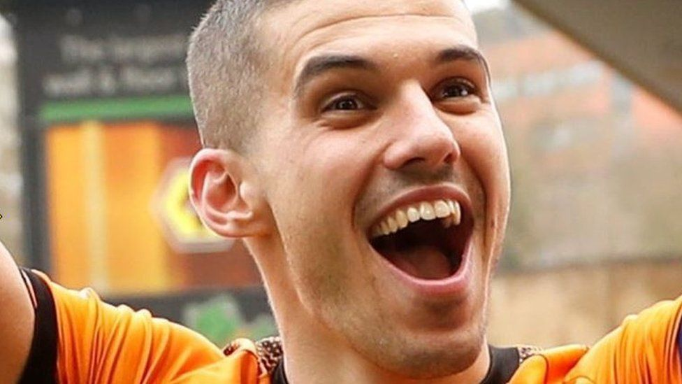 Wolves captain Conor Coady writes to 48 fans in Armenia trip