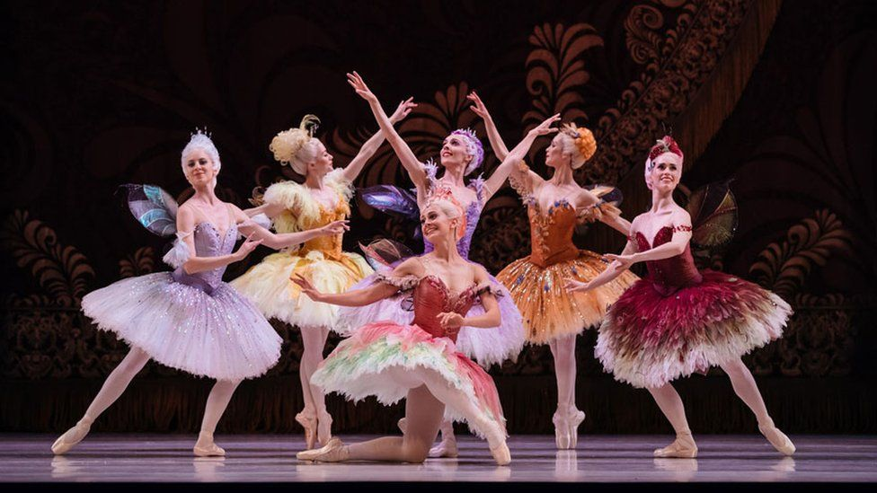 The Australian Ballet dancers performing Sleeping Beauty