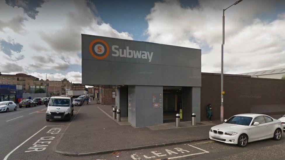 Ibrox Subway Station