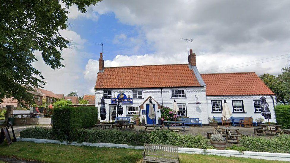 Ye Old Sun Inn at Colton, near Tadcaster