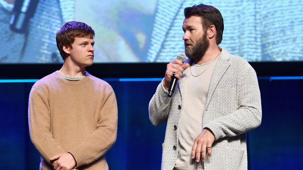 Lucas Hedges and Joel Edgerton