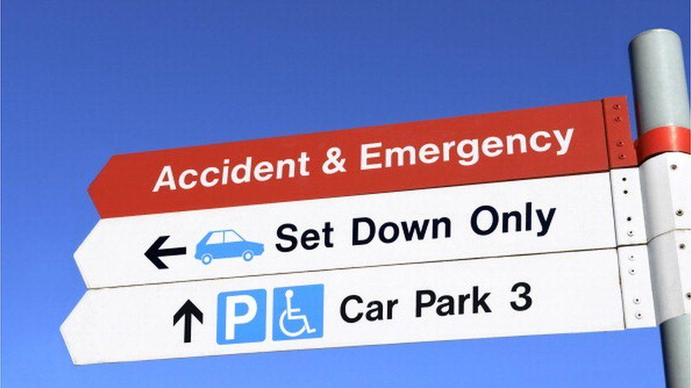Car parking at hospital