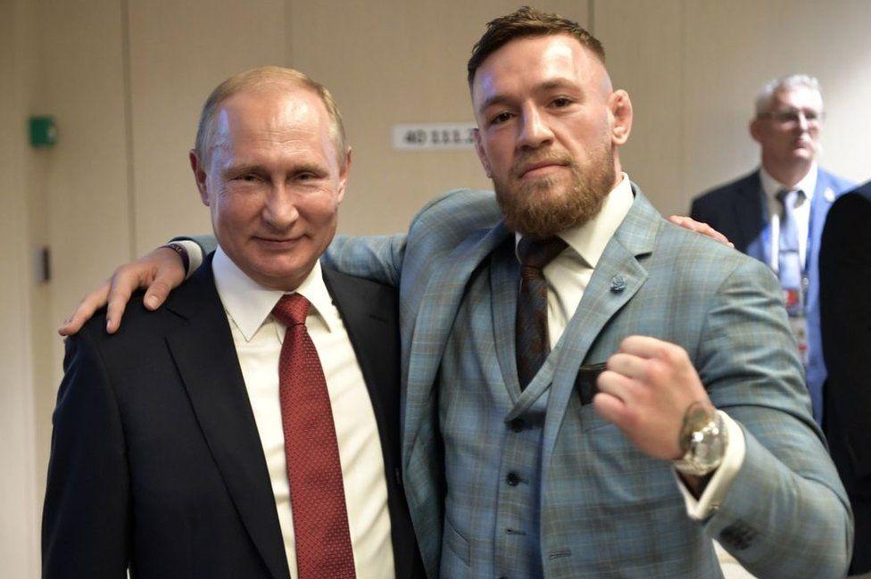 McGregor and Putin