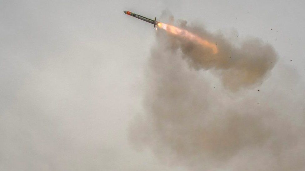Test firing of a Sea Ceptor missile