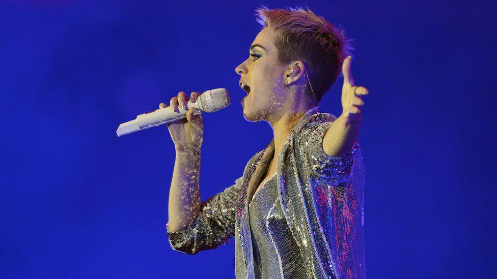 Katy Perry at BBC Radio 1's Big Weekend