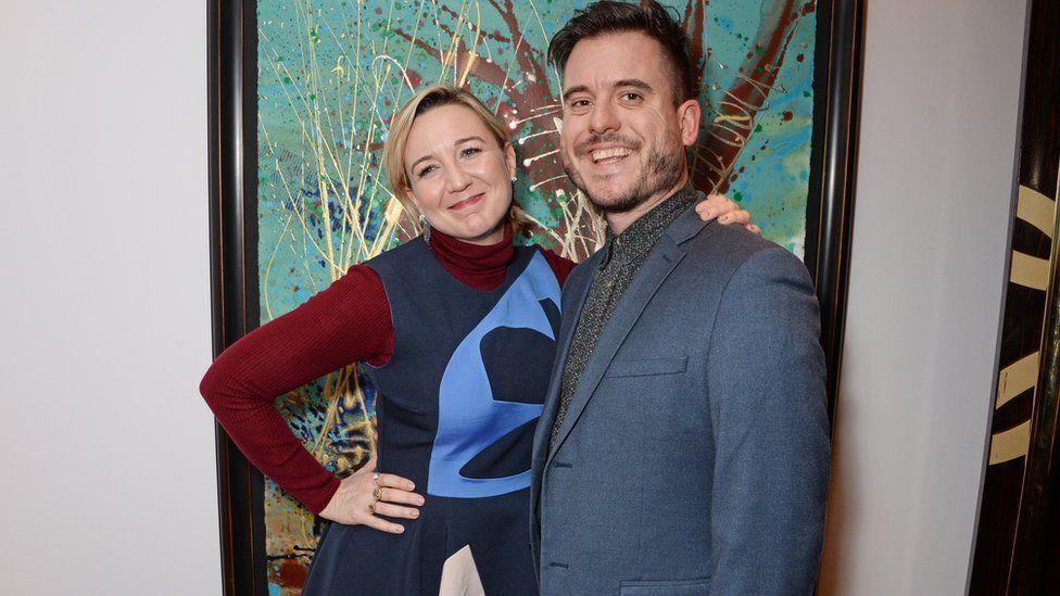 Josie Rourke and Michael Longhurst in 2018