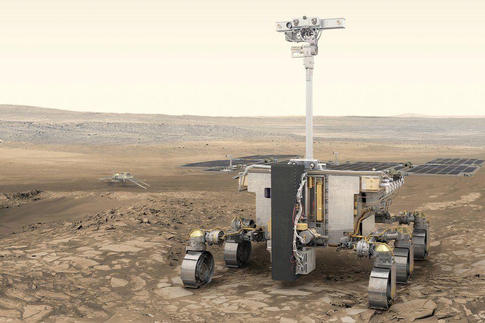 Artwork: ExoMars rover
