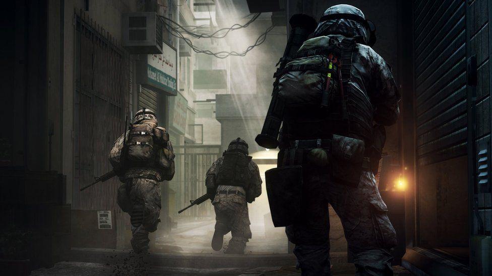 Screenshot from Battlefield 3