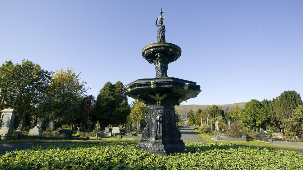 Victorian fountains