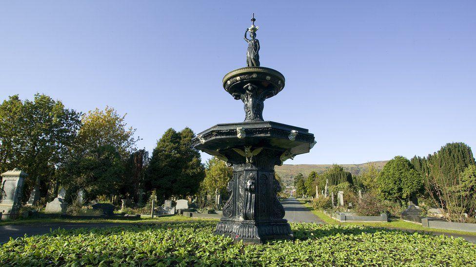 Victorian fountains