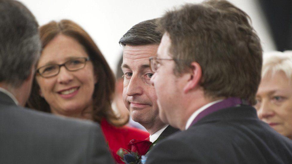 Douglas Alexander losing his seat in 2015