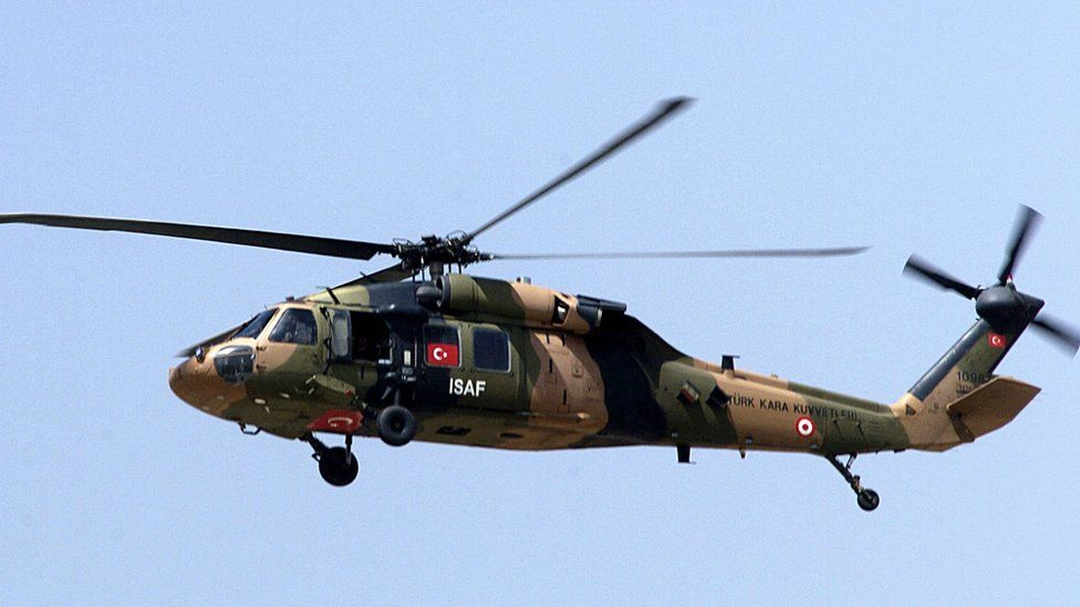 Turkish helicopter in Afghanistan, 2007 pic