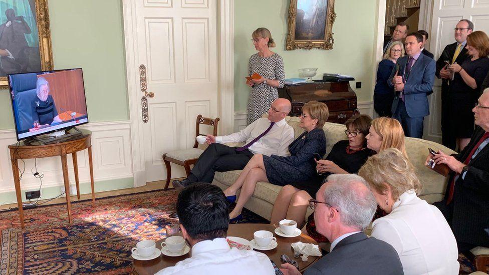 Cabinet watching judgement