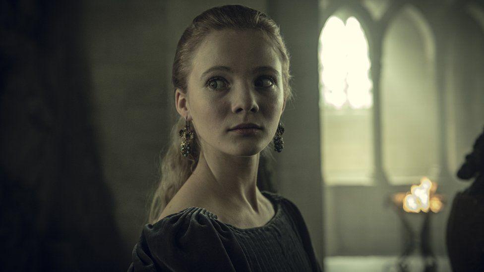 Ciri played by Anya Chalotra