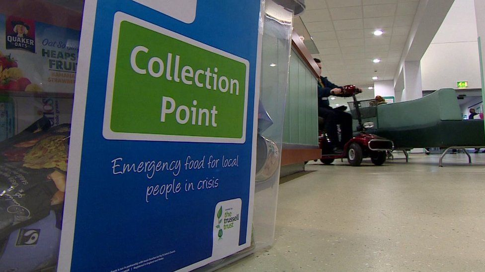 The food collection point