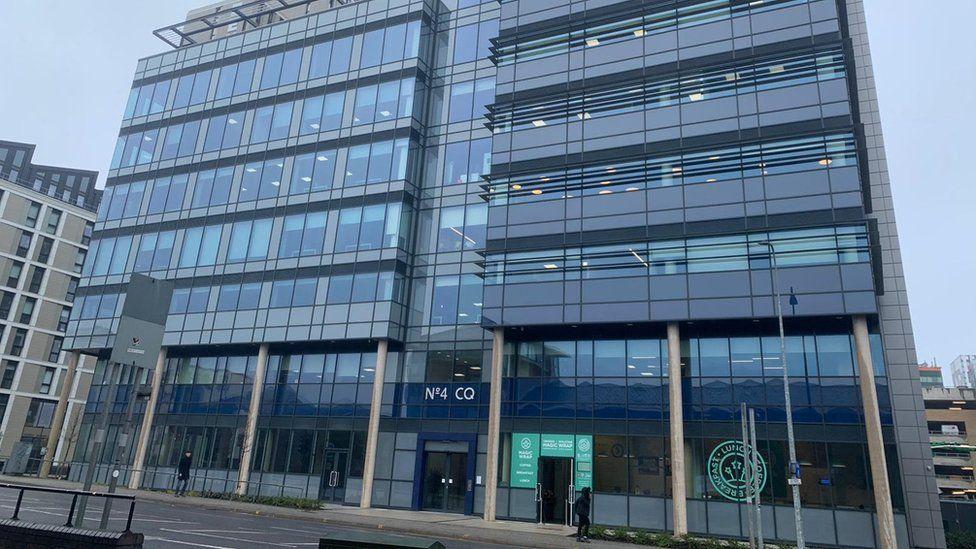 Sky call centre in Cardiff