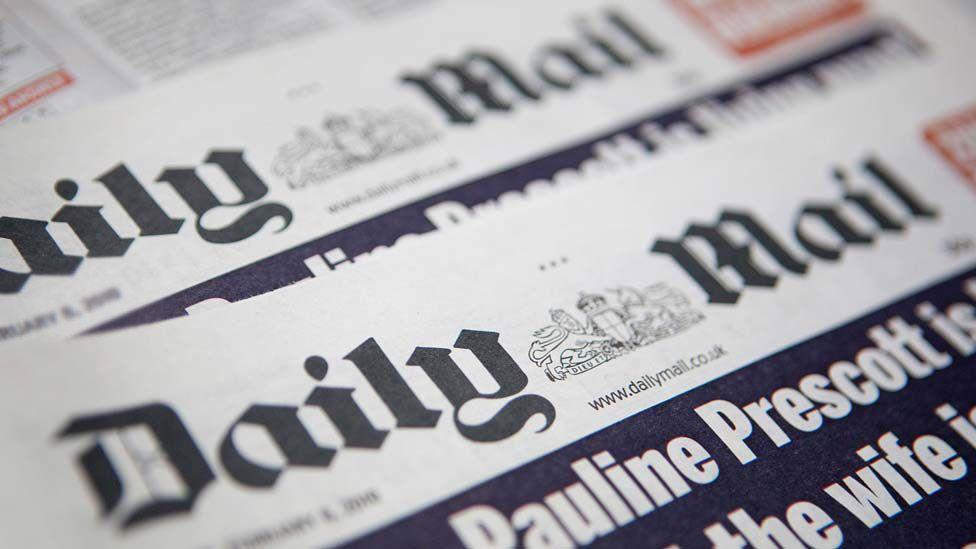 Daily Mail masthead