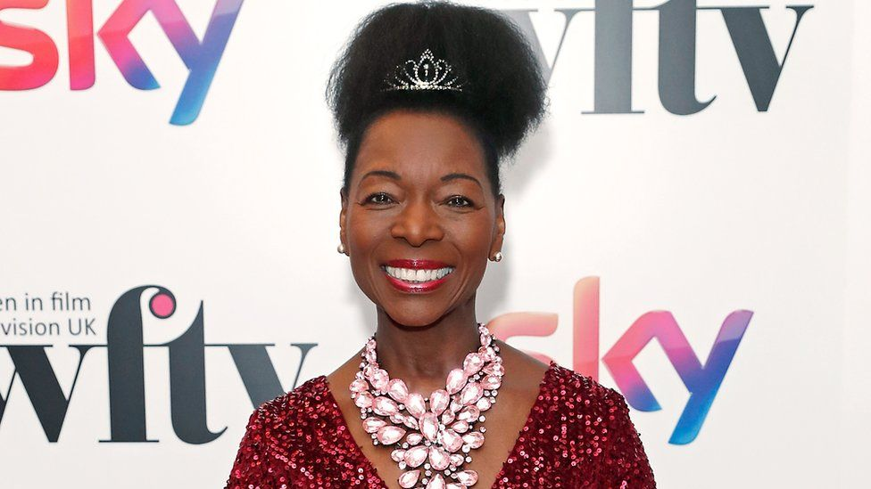 Baroness Floella Benjamin OBE attends the Women in Film and TV Awards 2019
