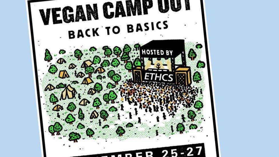 Vegan Camp Out promo
