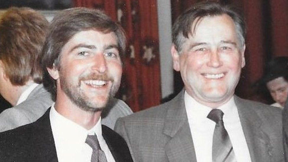 Rob King (left) and Charles King (right)