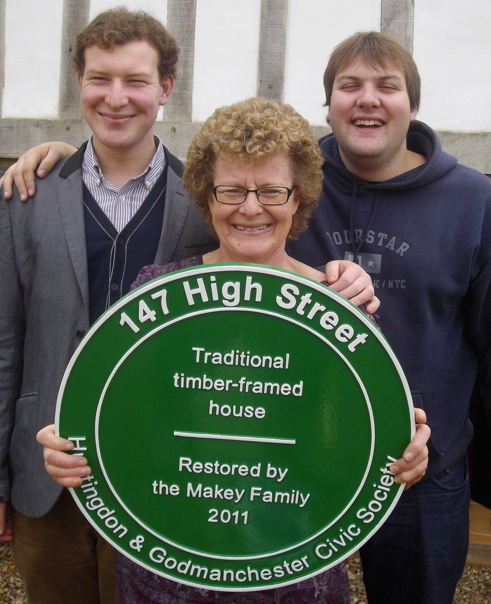 Angela Makey and sons
