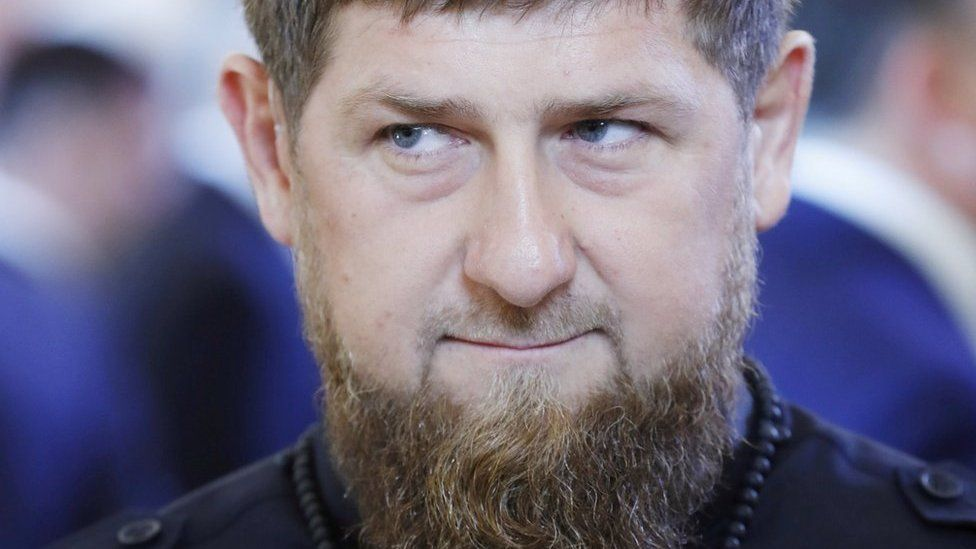 Head of the Chechen Republic Ramzan Kadyrov attends a ceremony inaugurating Vladimir Putin as President of Russia at the Kremlin in Moscow, Russia May 7, 2018.