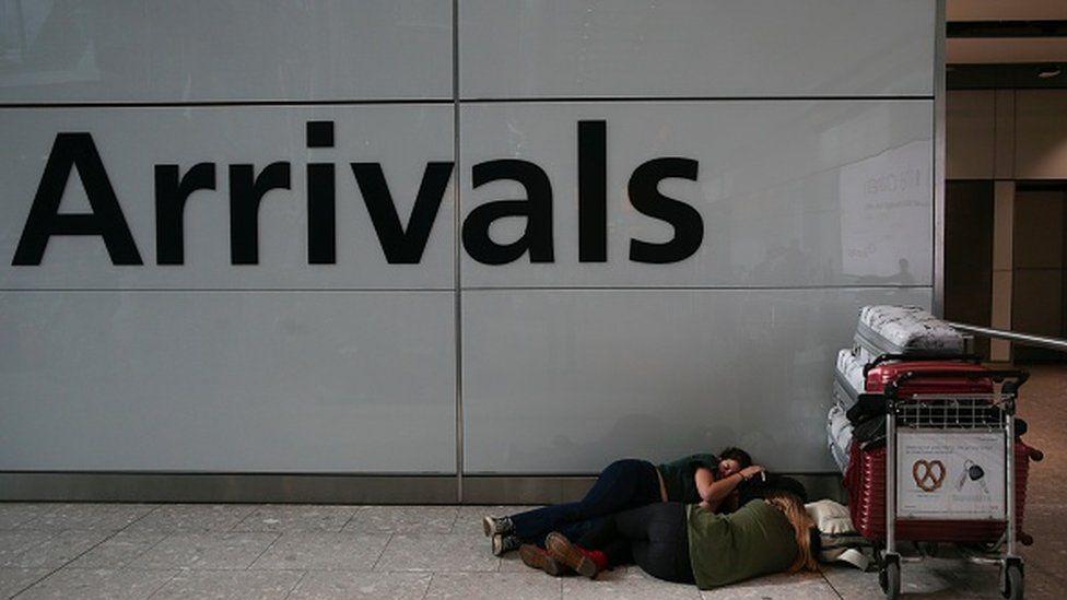 BA travel chaos