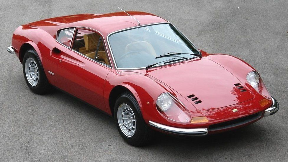 "A 1973 ""Chairs and Flares"" Ferrari Dino in completed form"