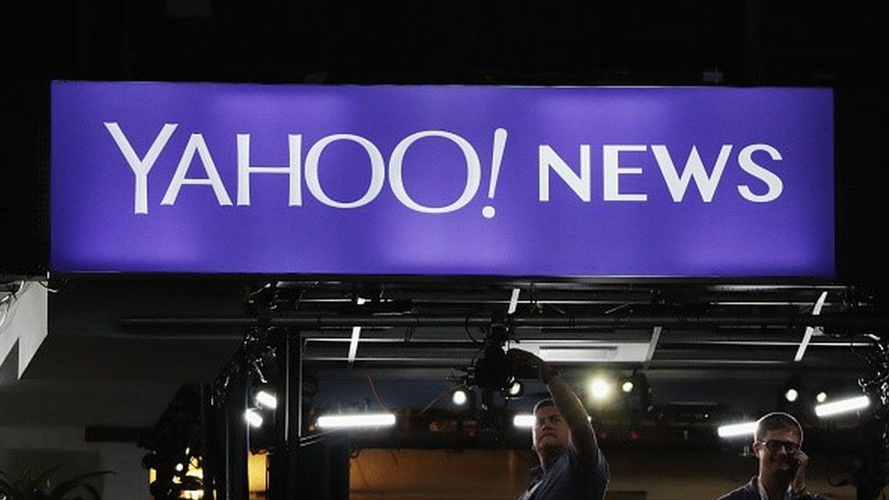 Yahoo news sign