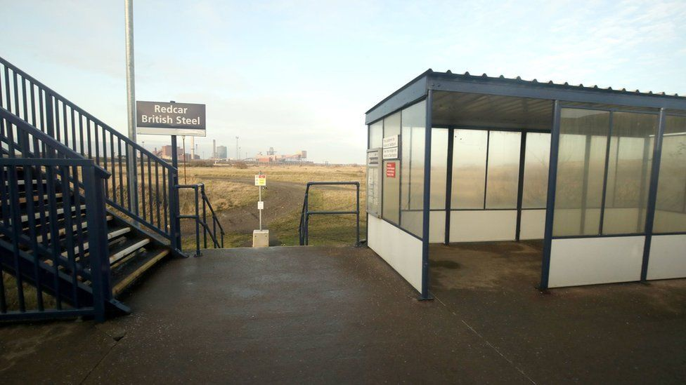 Least used railway station Redcar British Steel gets visitor boost