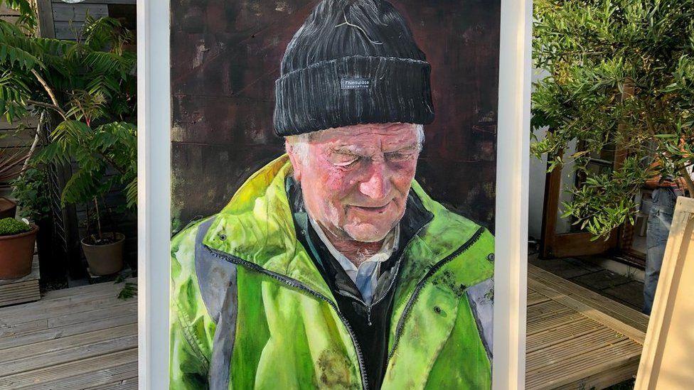 portrait of John Tucker