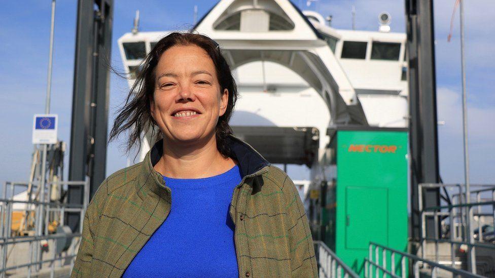Trine Heinemann, the E-Ferry Project Coordinator