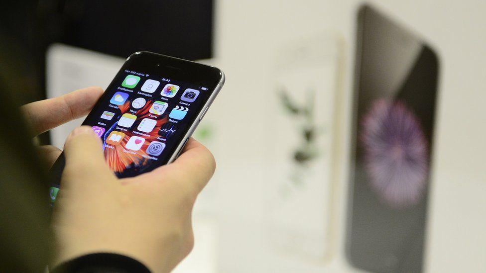 An iPhone 6s