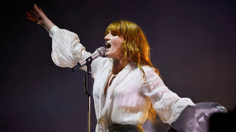 Florence and the Machine at Glasto