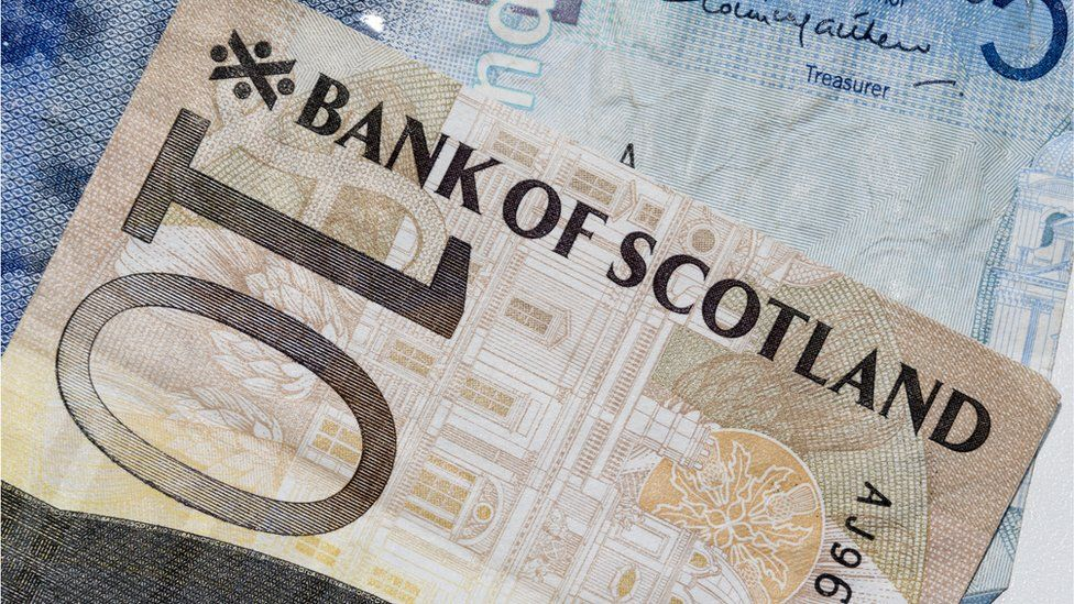 Scottish £10 note