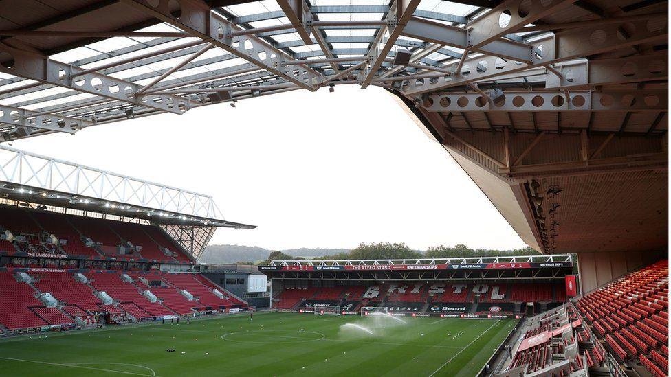 Ashton Gate Stadium, home to Bristol City FC