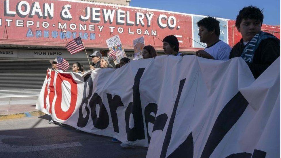 El Paso protest